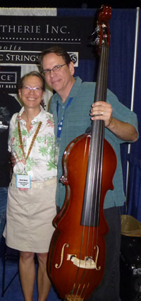 Karen and Gary at IBMA 2012