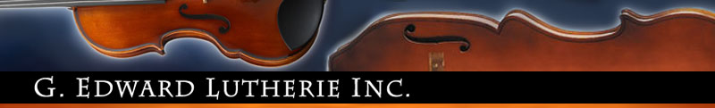 G. Edward Lutherie - Home of the Eminence Portable Upright Bass and the Dahlia 5-String Acoustic Violin